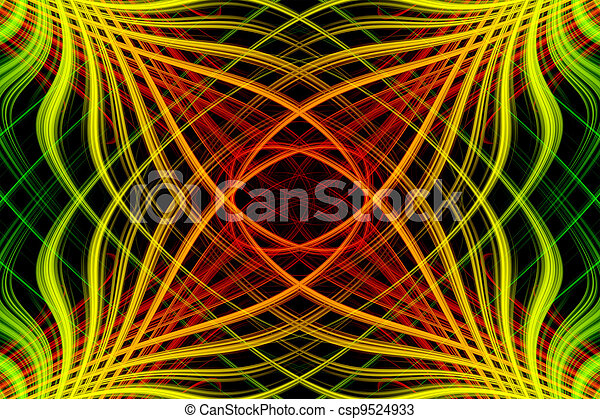 Abstract background with colorful - csp9524933