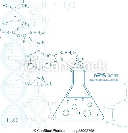 Abstract Background With Dna Molecule Structure Abstract Background