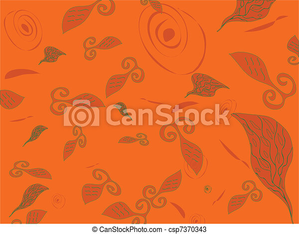 Abstract background with fish - csp7370343