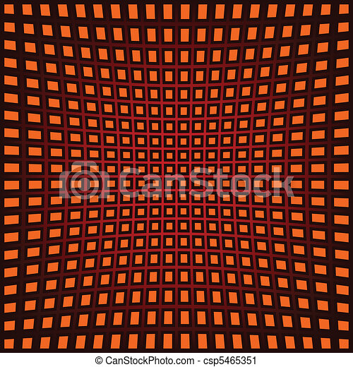 abstract background with fish eye effect - csp5465351