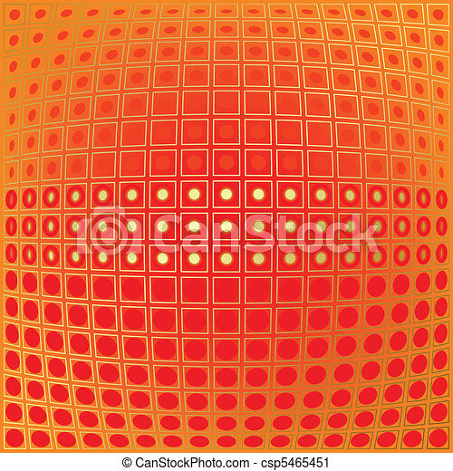 abstract background with fish eye effect - csp5465451