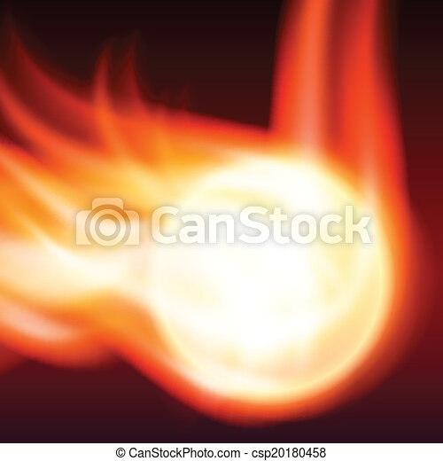Abstract background with flames - csp20180458