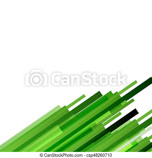 Abstract background with green lines - csp48260710