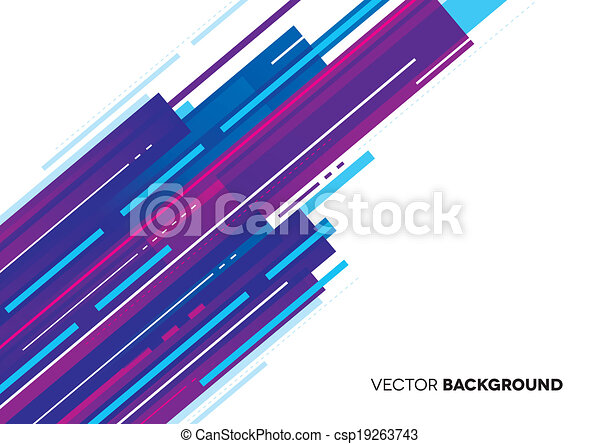 Abstract Background with lines - csp19263743