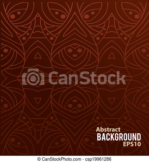 Abstract background with pattern - csp19961286