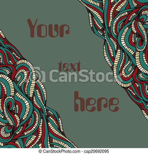 abstract background with place for text - csp20692095