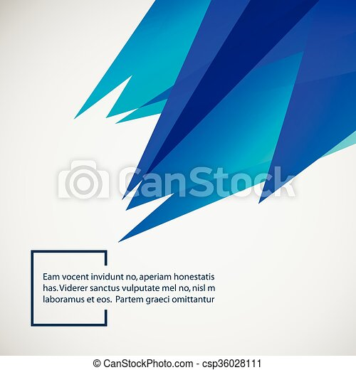 Abstract background with place for your text - csp36028111