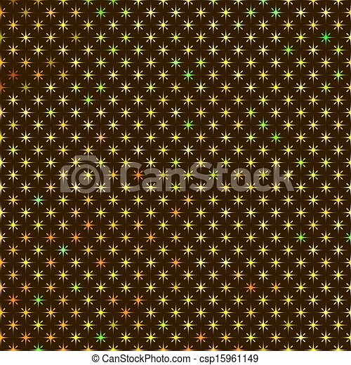 Abstract Background with Red Green Yellow Orange Stars - csp15961149