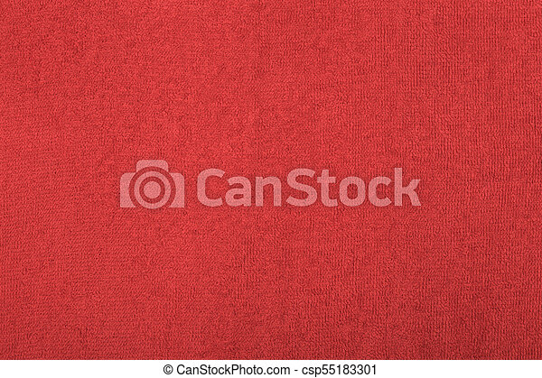 Abstract background with red texture, terrycloth