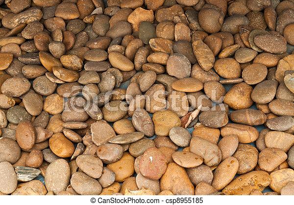 abstract background with round peeble stones  - csp8955185