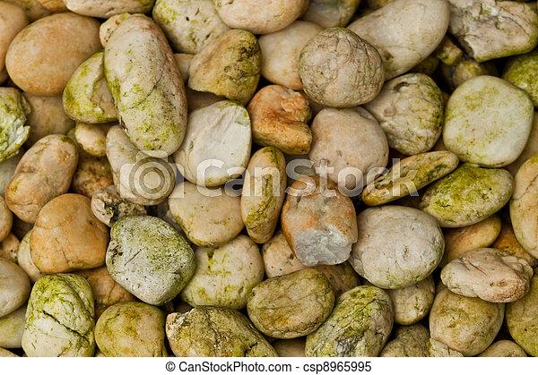abstract background with round peeble stones  - csp8965995