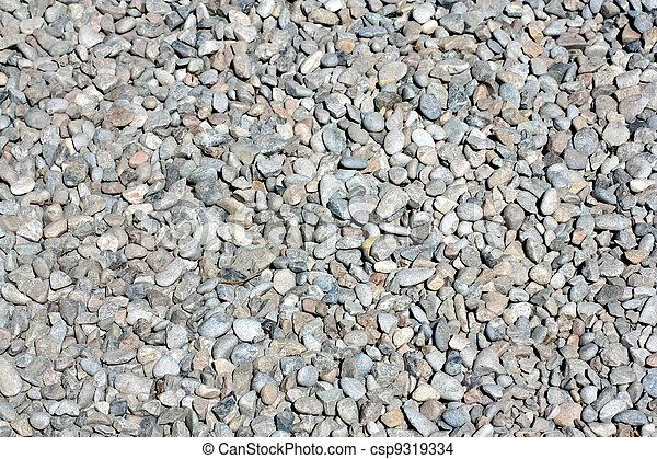 abstract background with round peeble stones  - csp9319334