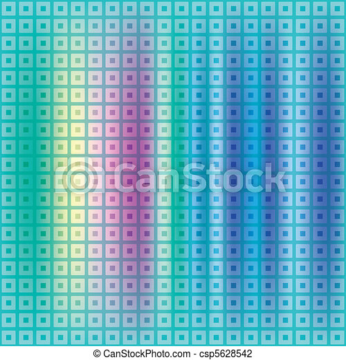 abstract background with squares and dots - csp5628542