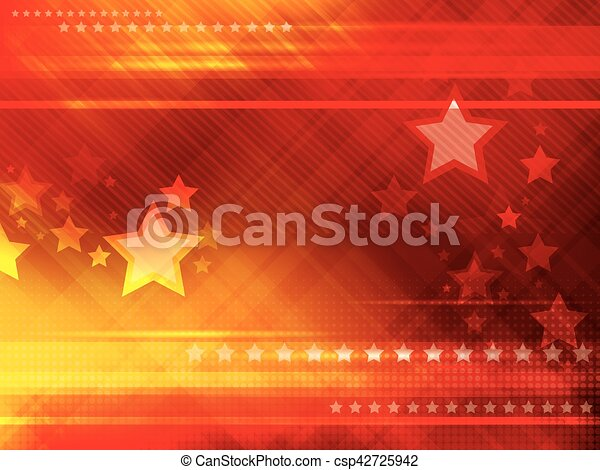 Abstract background with stars - csp42725942