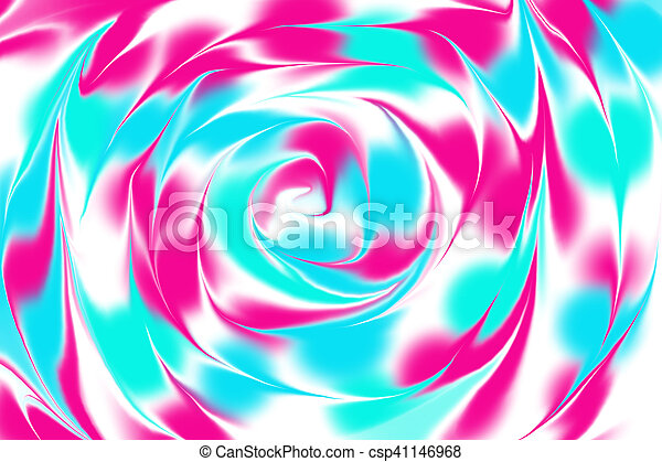 Abstract Background With Swirls Abstract Wallpaper Background In Pink Blue And Green With Swirls