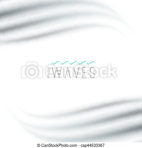 abstract background with waves - csp44533367