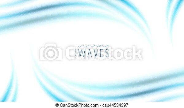 abstract background with waves - csp44534397