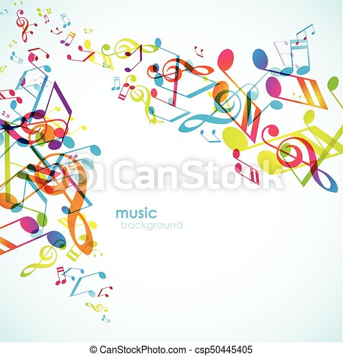 Abstract backgrounds with colorful tunes. - csp50445405
