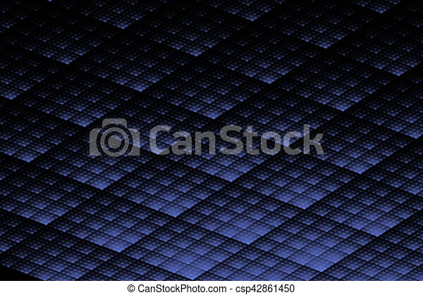 Abstract black blue texture - csp42861450