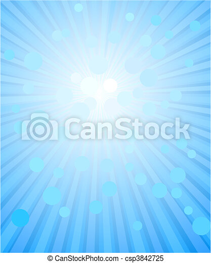 Abstract blue background  - csp3842725