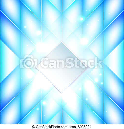 Abstract blue background  - csp18036394