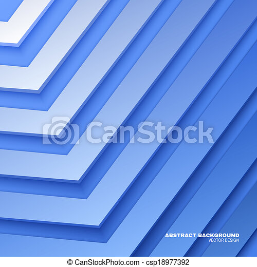 Abstract Blue Background - csp18977392