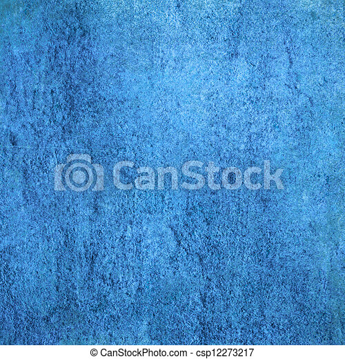 Abstract blue background or paper  - csp12273217