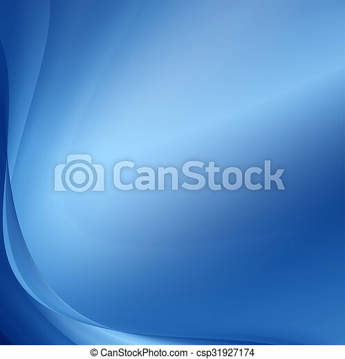 Abstract blue background - csp31927174