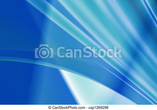 Abstract blue background - csp1269298