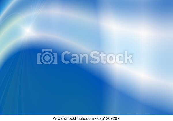 Abstract blue background - csp1269297
