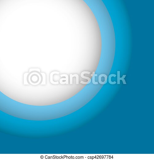 Abstract blue background with copy space - csp42697784