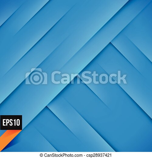 Abstract blue background with lights and shadows - csp28937421