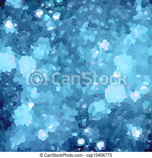 Abstract blue background with lights. Vector - csp15406773