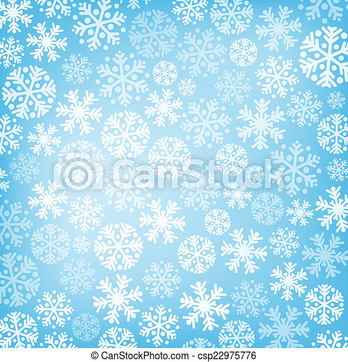 Abstract blue christmas background - csp22975776