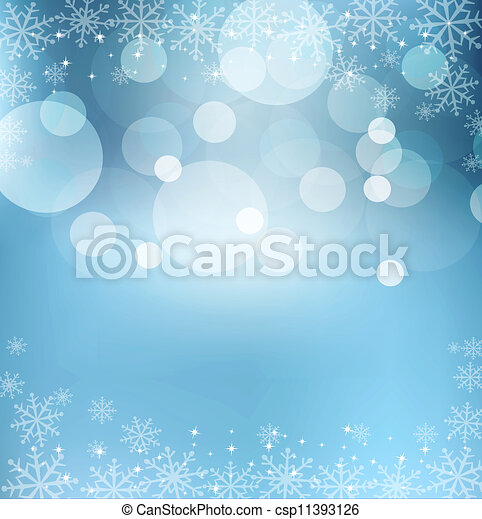 abstract blue  New Year's Eve, Christmas background - csp11393126