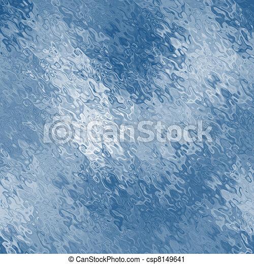 abstract blue sea  - csp8149641