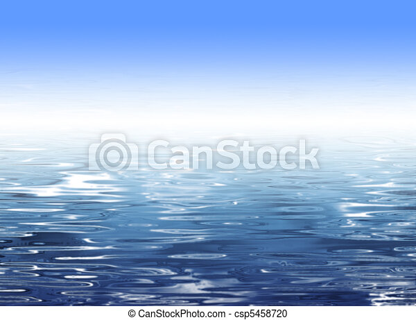 Abstract blue water background - csp5458720