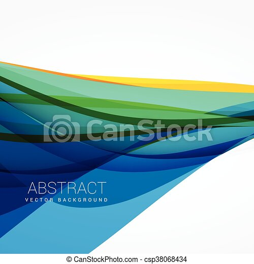 abstract blue wave background vector vectors search clip art rh canstockphoto com wave vector image wavevector spectrum