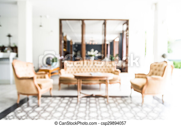 Abstract Blur Living Room Background   Csp29894057