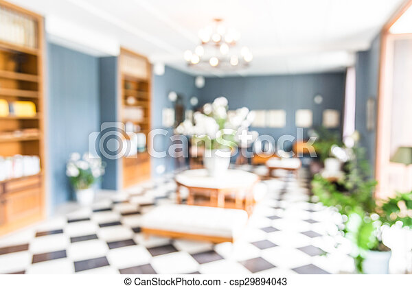 Abstract Blur Living Room Background   Csp29894043