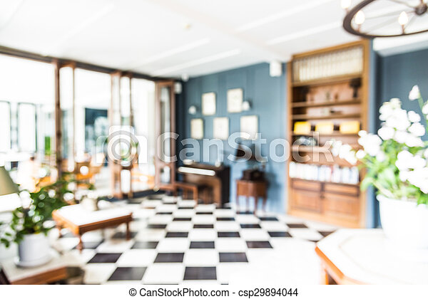 Abstract Blur Living Room Background   Csp29894044
