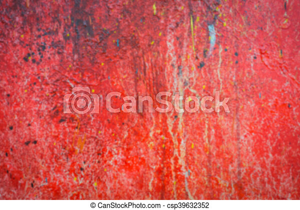 Abstract blur red oil brush strokes . - csp39632352