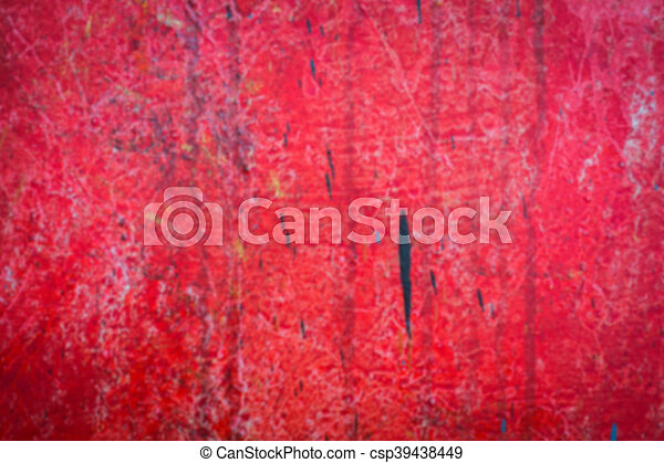 Abstract blur red oil brush strokes . - csp39438449