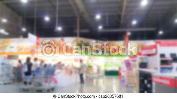 Abstract blur supermarket - csp28057681