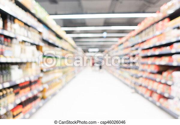 Abstract blur supermarket - csp46026046