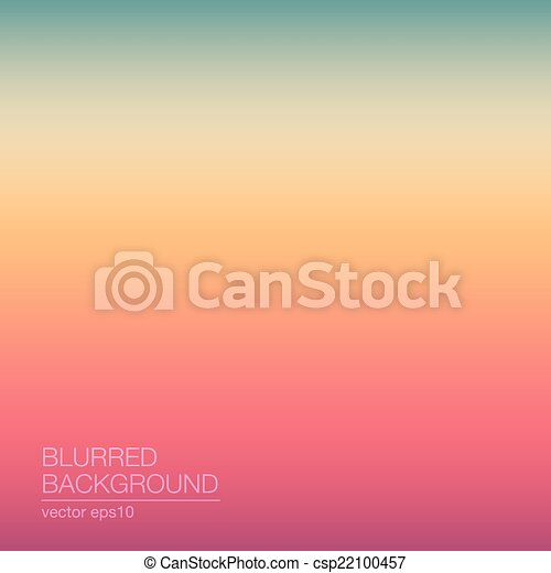 Abstract Blurred Backgrounds - csp22100457