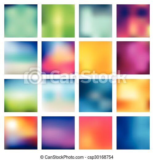 Abstract blurred backgrounds. - csp30168754