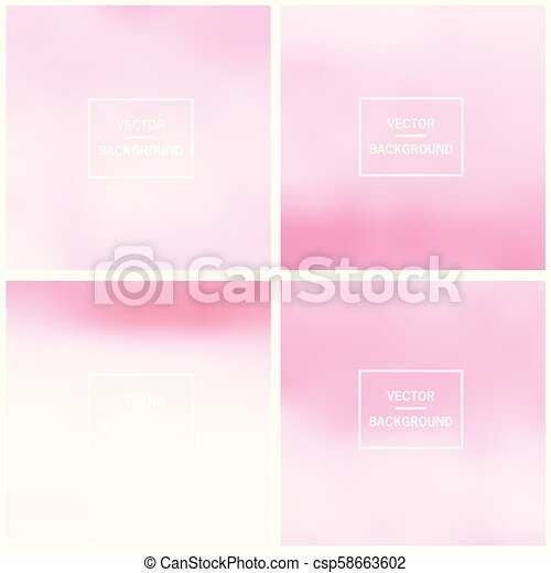 Abstract blurred backgrounds - csp58663602