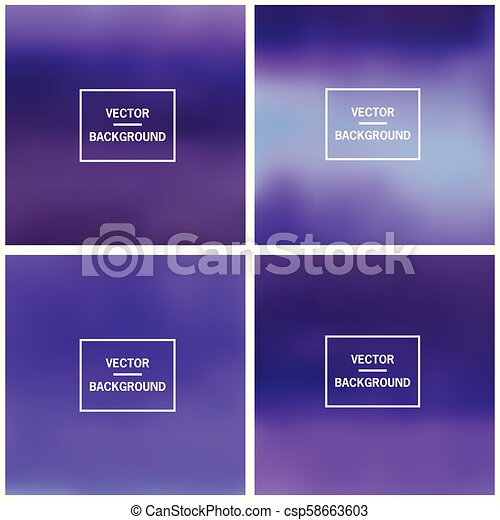 Abstract blurred backgrounds - csp58663603