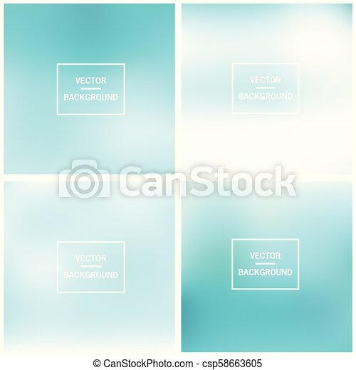 Abstract blurred backgrounds - csp58663605